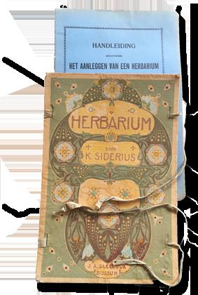 K. Siderius – Herbarium – ca. 1900 – gelithografeerd voorplat